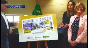 La ONCE dedica un cupón a la localidad de Dolores