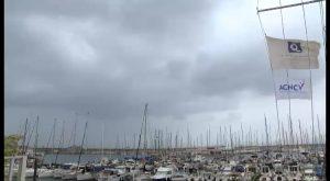 El fuerte temporal de levante azota a la Vega Baja
