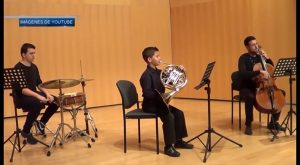 Un virtuoso de la música con nueve años