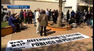 La Vega Baja sale a la calle en defensa del Sistema Público de Pensiones