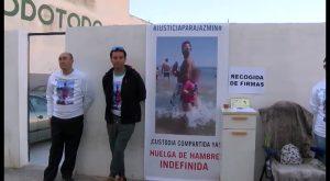 El torrevejense Carlos Montesinos inicia su huelga de hambre para poder ver a su hija