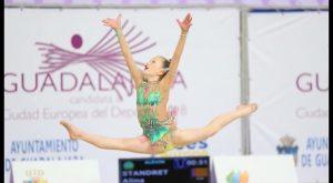 Plata para una gimnasta del club de gimnasia rítmica de Jennifer Colino