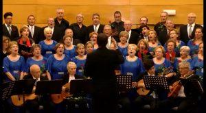 La Masa Coral Jóse Hodar de Torrevieja y la Coral Horadada, unidas por la música