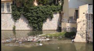 El Ayuntamiento de Orihuela denuncia la aparición de residuos en el cauce del Segura