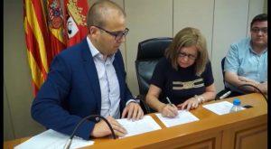 La Diputación entrega al Ayuntamiento de Albatera las obras llevadas a cabo en el casco antiguo