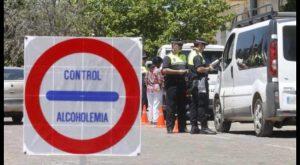 145 pruebas realizadas en la campaña de control de alcohol y drogas en conducción