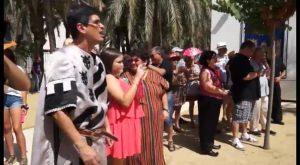 La representación de las fiestas de la Reconquista del Centro Ocupacional Oriol cumple veinte años