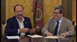 Orihuela y el Instituto Cervantes rubrican un acuerdo para difundir la vida y la obra de Miguel Hernández