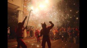 Espectacular y multitudinario Correfocs en Guardamar