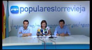 Los máximos dirigentes populares de la provincia y CV se reúnen en Torrevieja con AMPAS Vega Baja