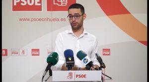 El PSOE presenta 47 enmiendas al proyecto de presupuestos del equipo de gobierno de Orihuela