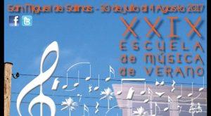Termina la XXIX Escuela de Música de Verano de San Miguel de Salinas