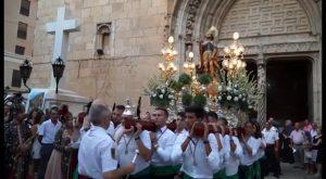La procesión de San Roque pone el colofón a las fiestas de Callosa