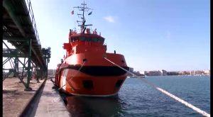 """""""Sar Mesana"""", una embarcación preparada para atender emergencias en alta mar"""