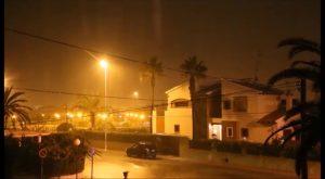 Las lluvias han llegado a superar los 36 litros por metro cuadrado en puntos de la Vega Baja