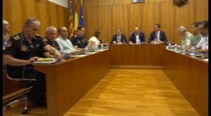 El Delegado del Gobierno en Alicante preside una reunión de la Junta Local de Seguridad de Orihuela