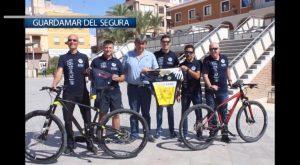 Diez policias de Guardamar participarán en el XX campeonato nacional de Mountain Bike