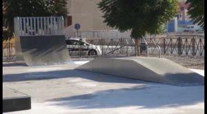 Alumnos del Colegio Sagrados Corazones de Redován inauguran el nuevo skate park de la localidad