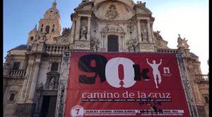 El corredor de 60 años Juan Antonio Marcos, vencedor de la 90K Camino de La Cruz