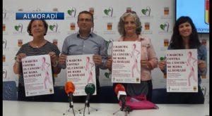 I Marcha Solidaria en Almoradí contra el cáncer de mama