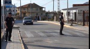 La rápida actuación de la Policía Local de Orihuela permite socorrer a dos menores