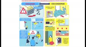 Policía local y guardia civil difunden instrucciones para la población civil ante ataque terrorista