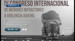 Orihuela acoge la semana que viene un congreso internacional sobre la violencia en los jóvenes