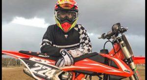 David Braceras ya gana a bordo de su nueva moto KMT 125
