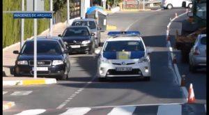 La Policía Local de Orihuela detiene a cuatro personas en un control de tráfico