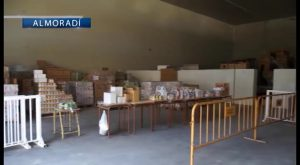 250 familias necesitadas de Almoradí llenarán su despensa al llegar la Navidad