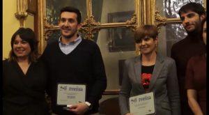 La prensa oriolana entregó los premios Naranja y Limón a Víctor Valverde y Juan Ignacio López-Bas