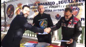 Policía Nacional y Guardia Civil recogen firmas para que se equiparen sus salarios