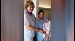 Ruth, el primer bebé de 2018 en la Vega Baja