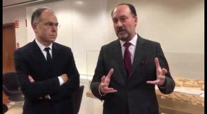 Bascuñana pone fin al problema de las obras del AVE con la firma del convenio