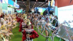 Diputación promociona por medio mundo el Carnaval de Torrrevieja en Fitur