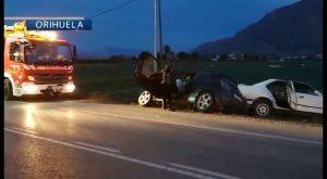 Accidente en la CV-91 deja cuatro heridos