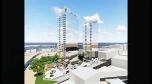 Una empresa ilicitana proyecta 4 nuevas torres en la zona de la Curva del Palangre