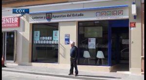 """La Lotería de """"los enamorados"""" deja 1,3 millones de euros en Cox"""