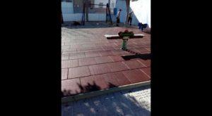 Pedanías renueva el parque infantil de Arneva