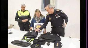 El ayuntamiento de Rojales adquiere 13 nuevos chalecos antibala