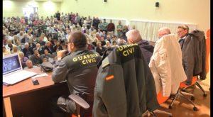 Más de 300 jubilados asisten en Rojales a una charla ofrecida por la Guardia Civil