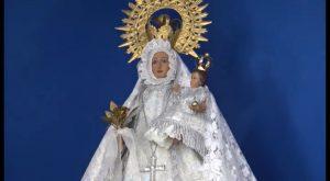 Restauran la talla de la Virgen de Monserrate de la ermita de la Calle Arriba