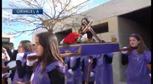 Los colegios de Orihuela se adelantan a las procesiones de Semana Santa