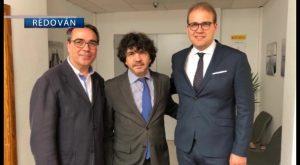 El alcalde de Redován presenta varios proyectos al Secretario de Estado de Servicios Sociales