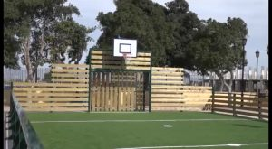 Almoradí cuenta con una nueva zona deportiva en la plaza Juan Carlos I