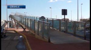 Orihuela revisa las diferentes opciones de diseño de la nueva pasarela de Marqués de Molins