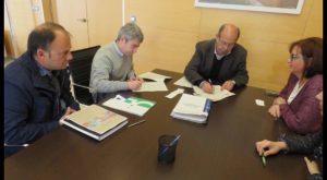 Firma del contrato con la empresa adjudicataria de la ampliación de actual Centro de Salud del Pilar