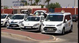 Reunión con representantes de las asociaciones de taxistas de Orihuela
