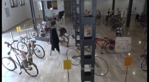 Orihuela celebra el Día de la Bicicleta con una exposición sobre su historia en Lonja