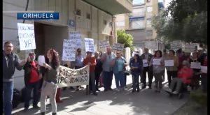 """Más de medio centenar de personas de la comarca han exigido en una protesta """"unas pensiones dignas"""""""